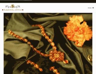 jewelsbykusumavali.com screenshot