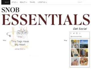 jewelsnob.com screenshot