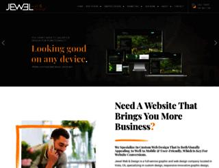 jewelwebdesign.net screenshot