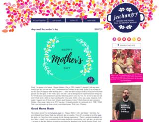 jewhungrytheblog.com screenshot