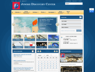 jewishdiscoverycenterorg.clhosting.org screenshot