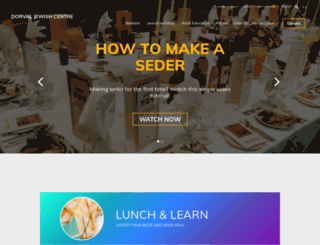 jewishdorval.com screenshot