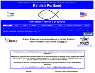 jewishheritagerevival.com screenshot