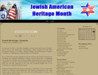 jewishhistorymonth.net screenshot