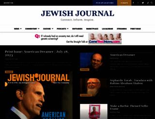 jewishjournal.com screenshot