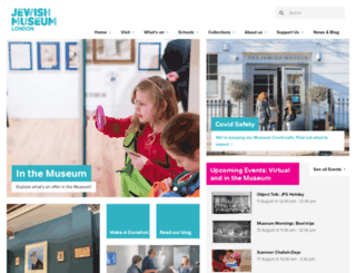 jewishmuseum.org.uk screenshot