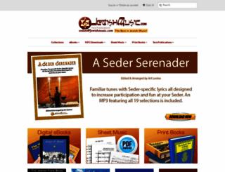 jewishmusic.com screenshot
