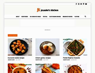 jeyashriskitchen.com screenshot