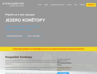 jezerokonetopy.eu screenshot