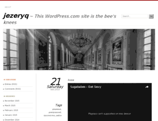 jezeryq.wordpress.com screenshot