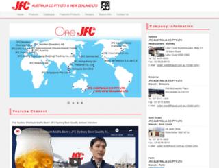 jfcaustralia.com.au screenshot