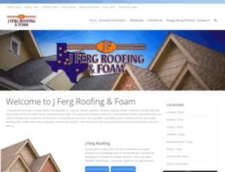 jfergroofing.com screenshot