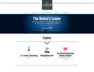 jfgriffin.com screenshot
