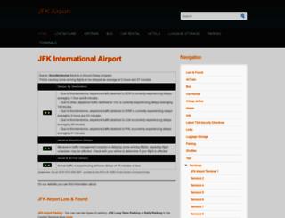 jfk-airport.net screenshot