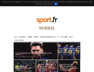 jfpresse01.sport.fr screenshot