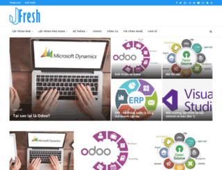 jfresh.net screenshot