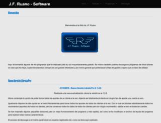 jfruano.com screenshot