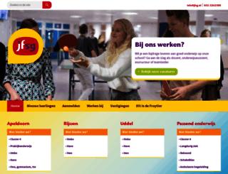 jfsg.nl screenshot