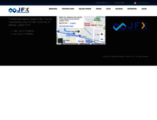 jfx.co.id screenshot