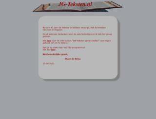 jg-teksten.nl screenshot