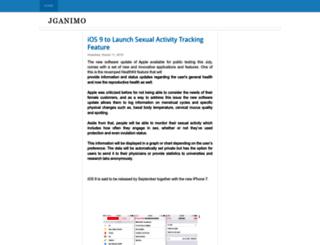 jganimo.blogspot.com screenshot