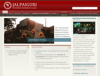 jgec.in screenshot