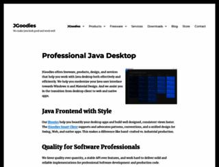 jgoodies.com screenshot