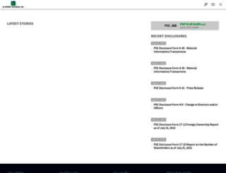 jgsummit.com screenshot
