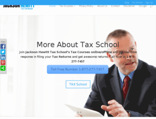jh-taxschool.com screenshot