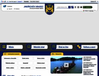 jh.cz screenshot