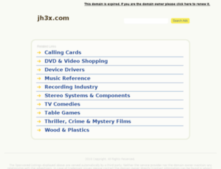 jh3x.com screenshot