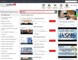 jhansionline.in screenshot