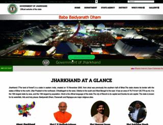 jharkhand.gov.in screenshot