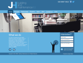 jhbm.co.uk screenshot