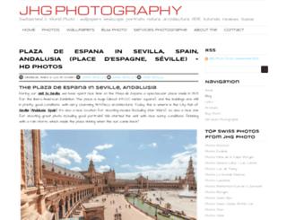 jhgphoto.com screenshot