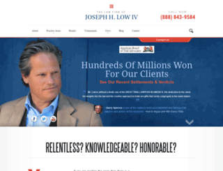 jhllaw.com screenshot