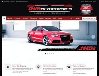 jhmotorsports.com screenshot