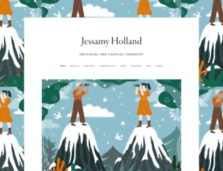 jhollandtherapy.com screenshot