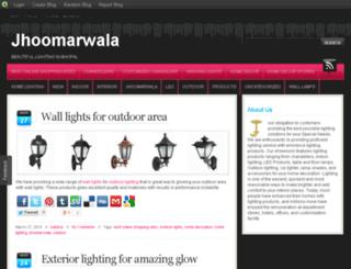 jhoomarwala.blog.com screenshot