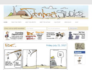 jhscomics.com screenshot