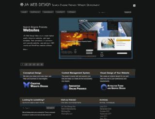 jiawebdesign.com screenshot