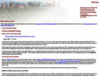 jibbering.com screenshot