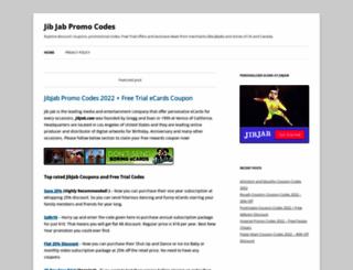 jibcouponcodes.com screenshot