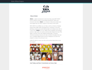 jibjab.affiliatetechnology.com screenshot