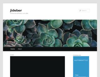 jideber.wordpress.com screenshot