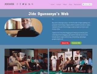 jideweb.com screenshot