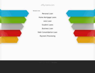 jiffy-loans.com screenshot