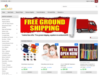 jiffyprintonline.com screenshot