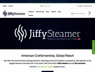 jiffysteamer.com screenshot