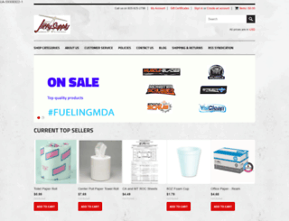 jiffysupply.com screenshot